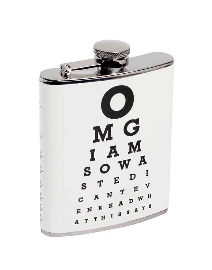 Flask 7 Fl Oz Wild Eye Designs