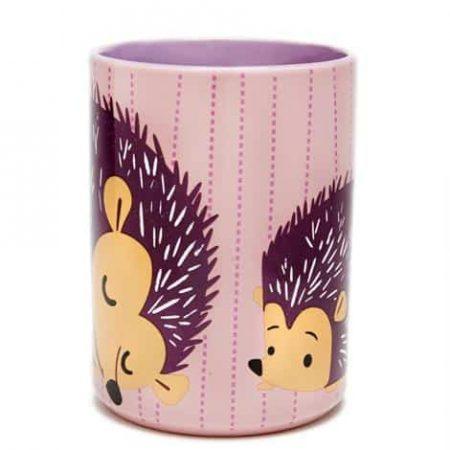 Pink striped_hedgehog_01