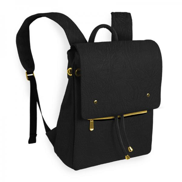 Wine Backpack, Cooler Backpack, Black and Gold, Fashion, Freezer Bag, Picnic