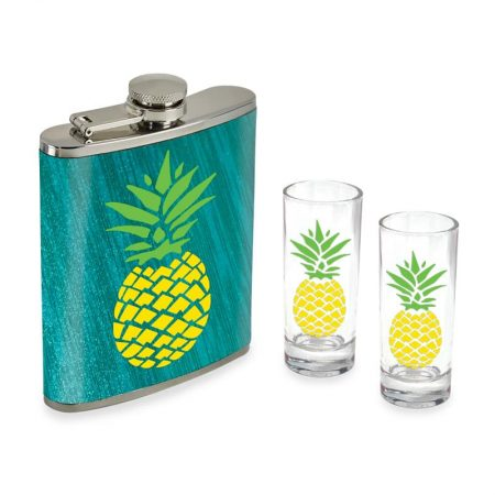 Flask & Shot Glass Set