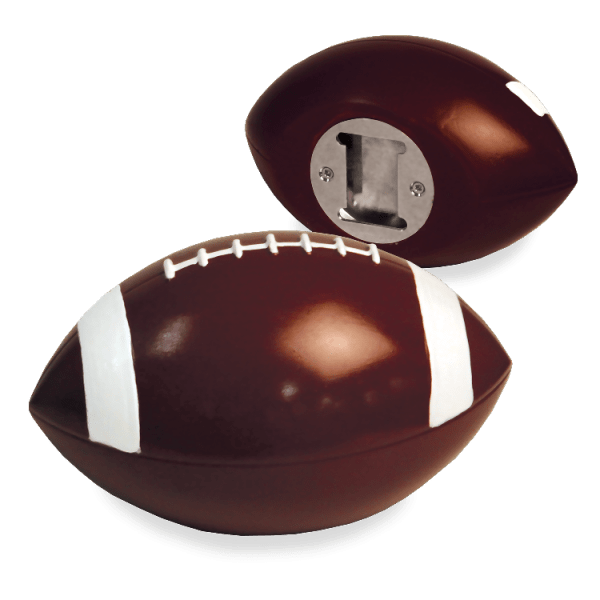 Football Bottle Opener by Wink by Wild Eye Designs, Haldheld, Beer Opener