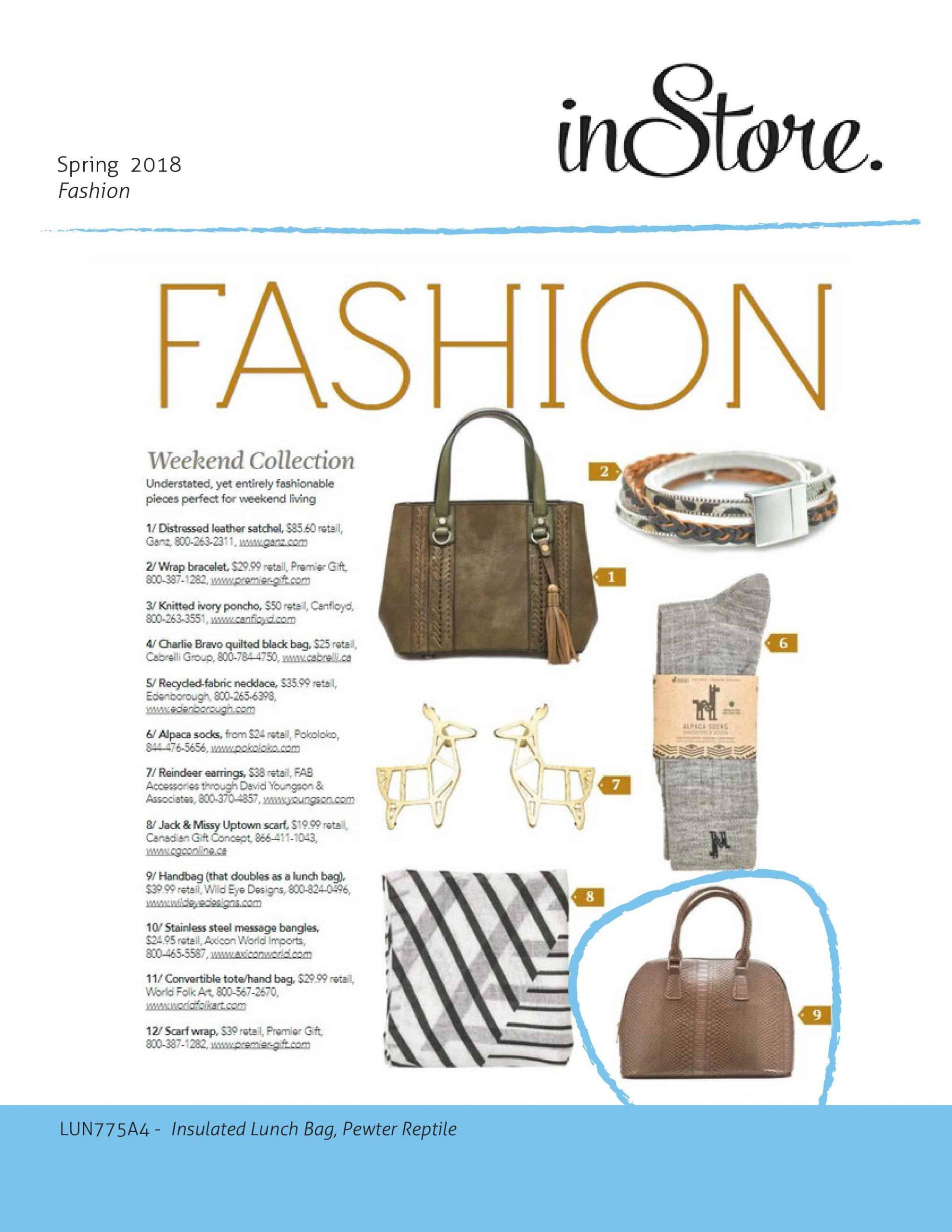 inStore Magazine Spring 2018 Issue