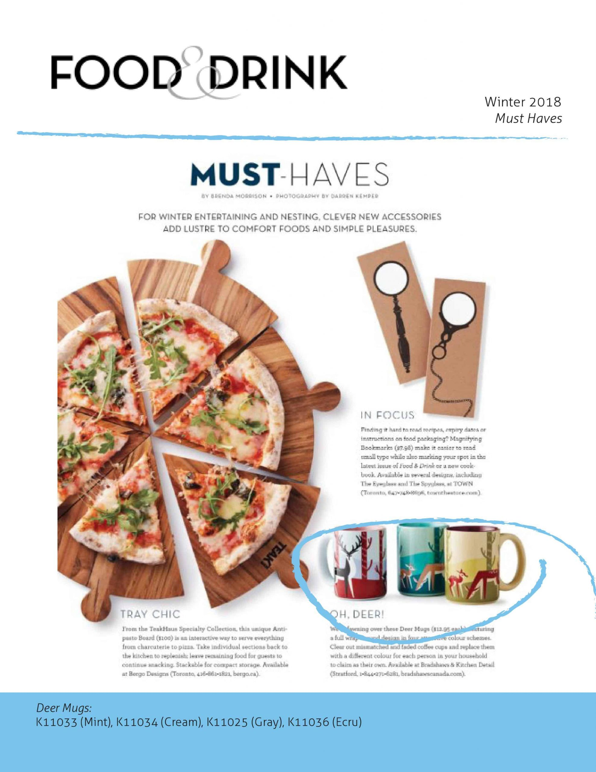 Food & Drink Winter 2018 Issue