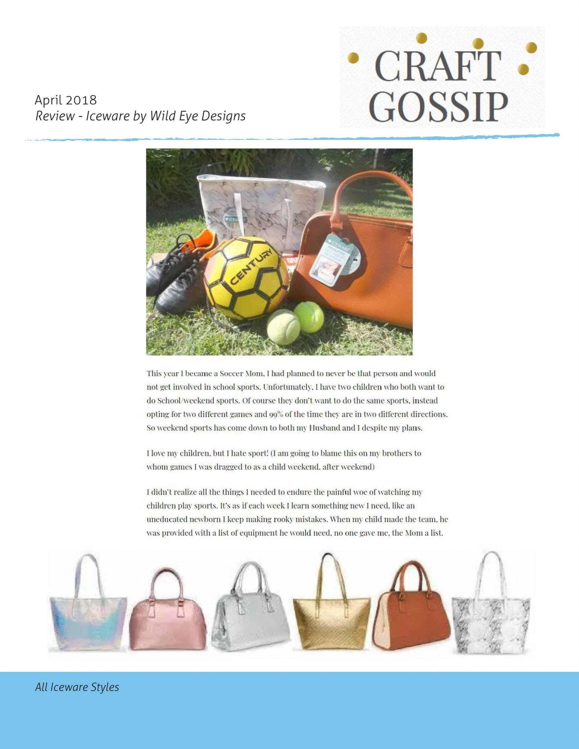 Craft Gossip April 2018 Review