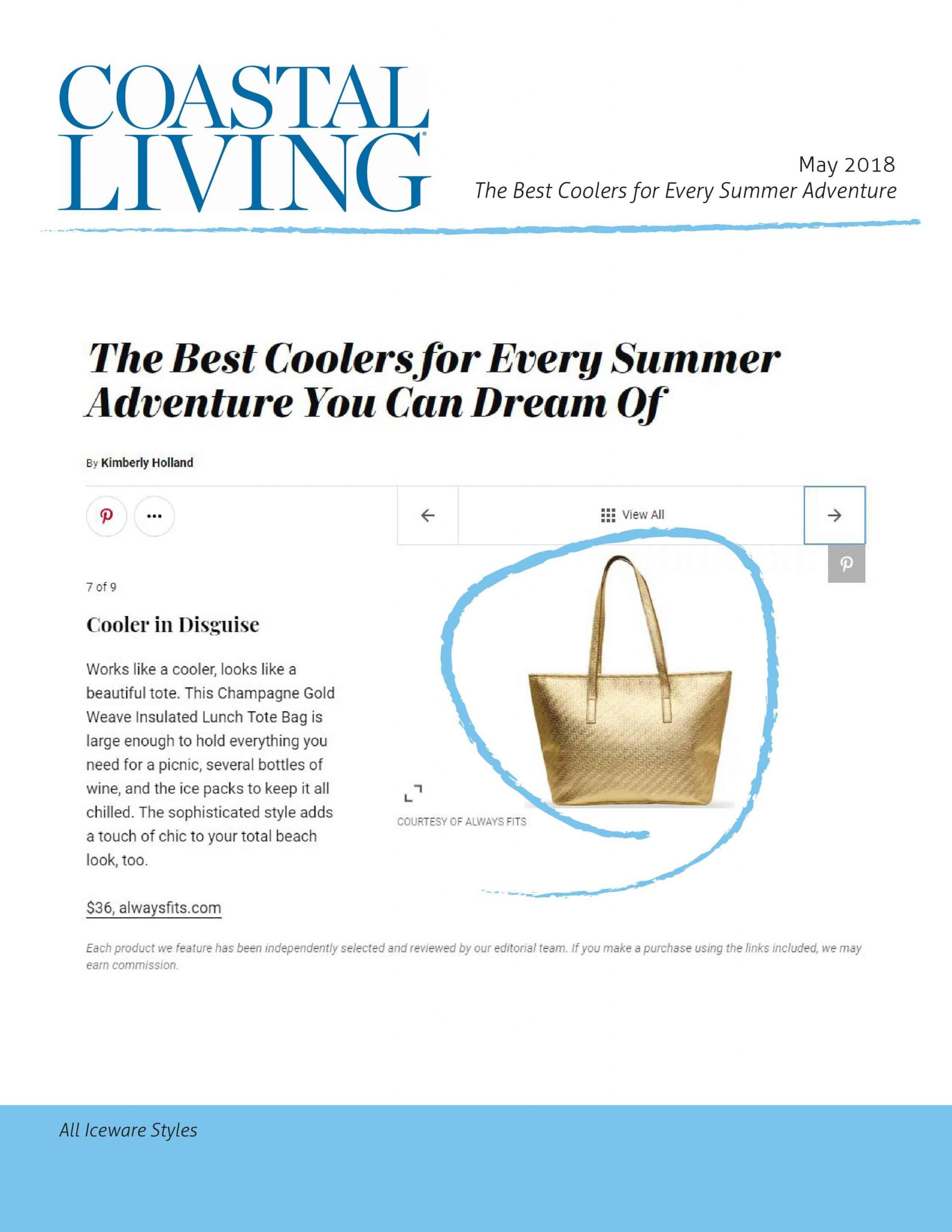 Coastal Living May 2018