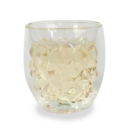 Double Wall Stemless Glass