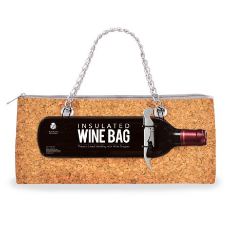 Insulated Wine Bag & Corkscrew