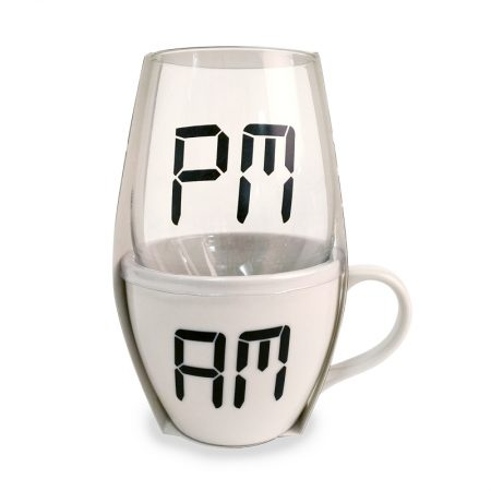 Stemless Glass & Mug Set